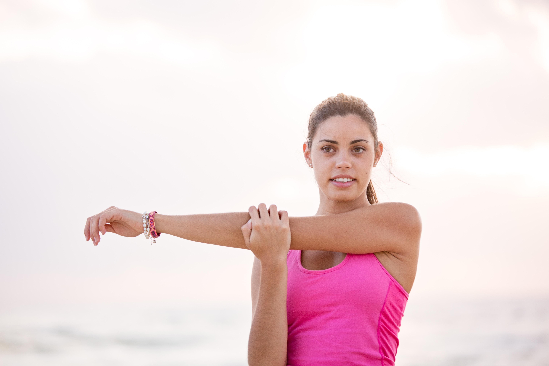Упражнения для похудения плеч