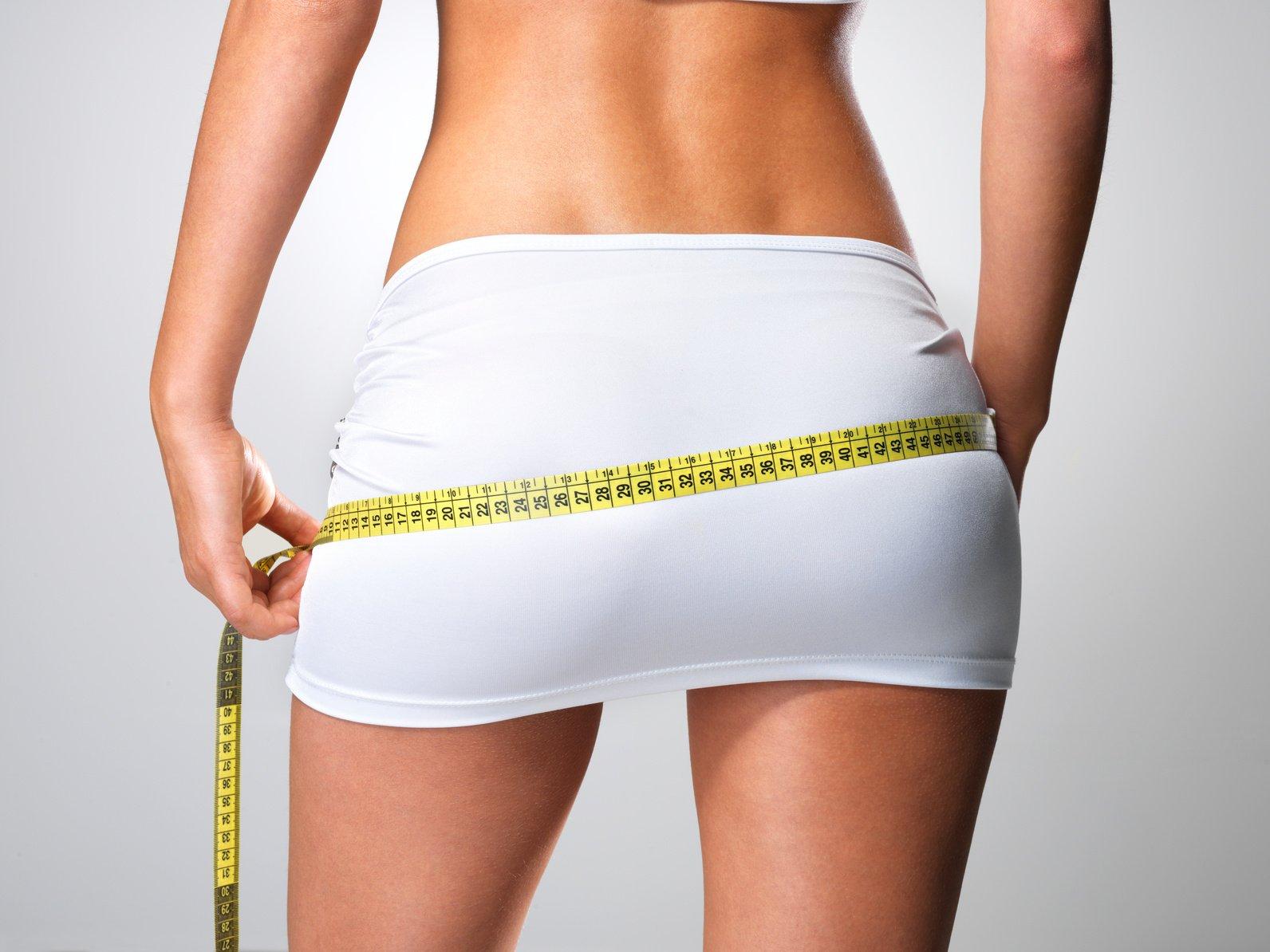 Сбросить вес на ягодицах и бедрах