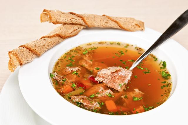 Мясной суп рецепт диета