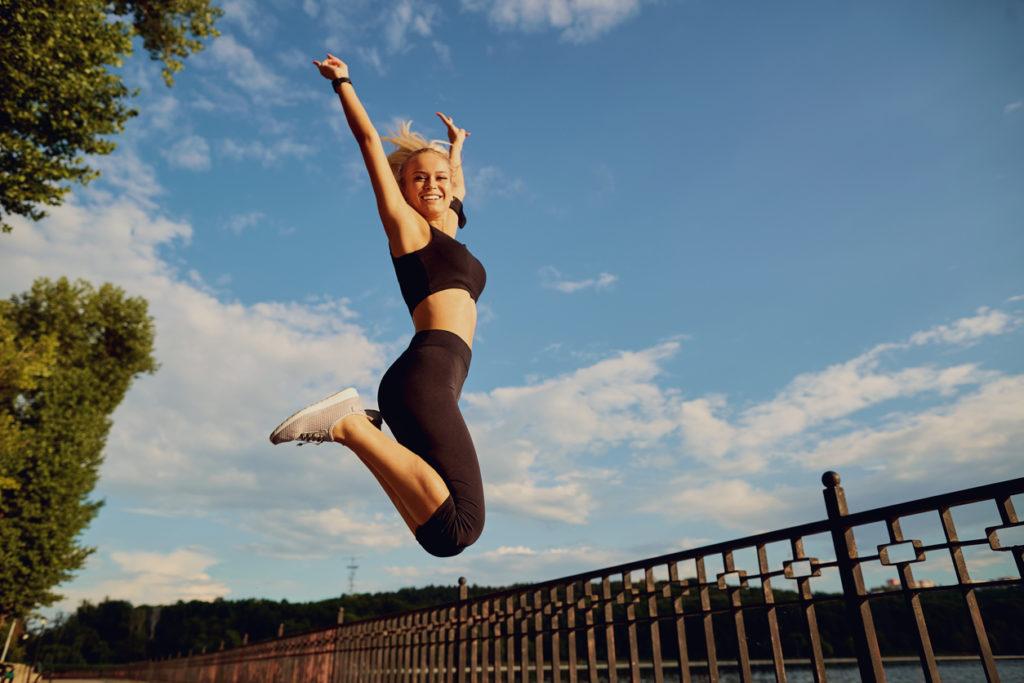 упражнение для прыжка