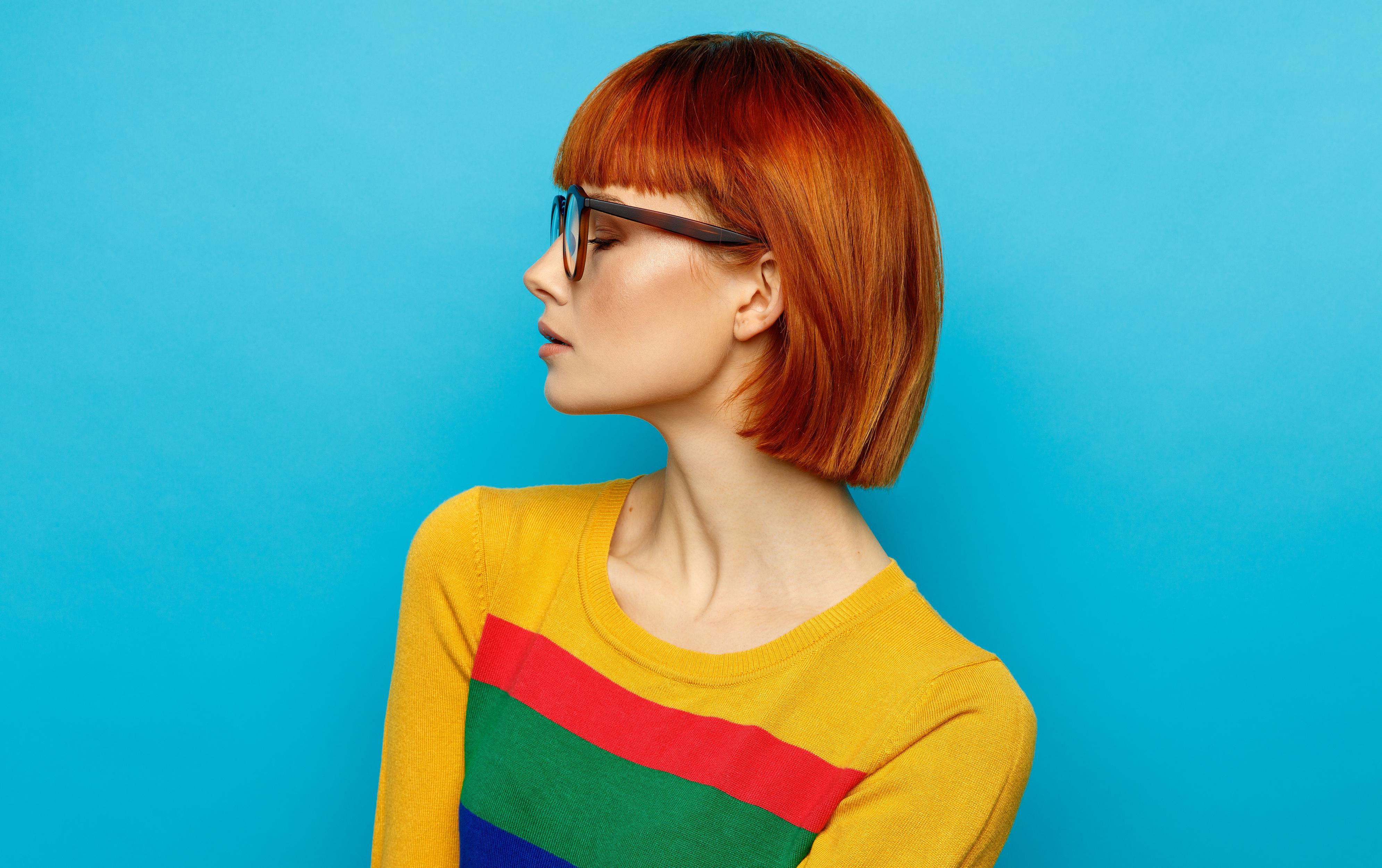 как перекрасить рыжий цвет волос
