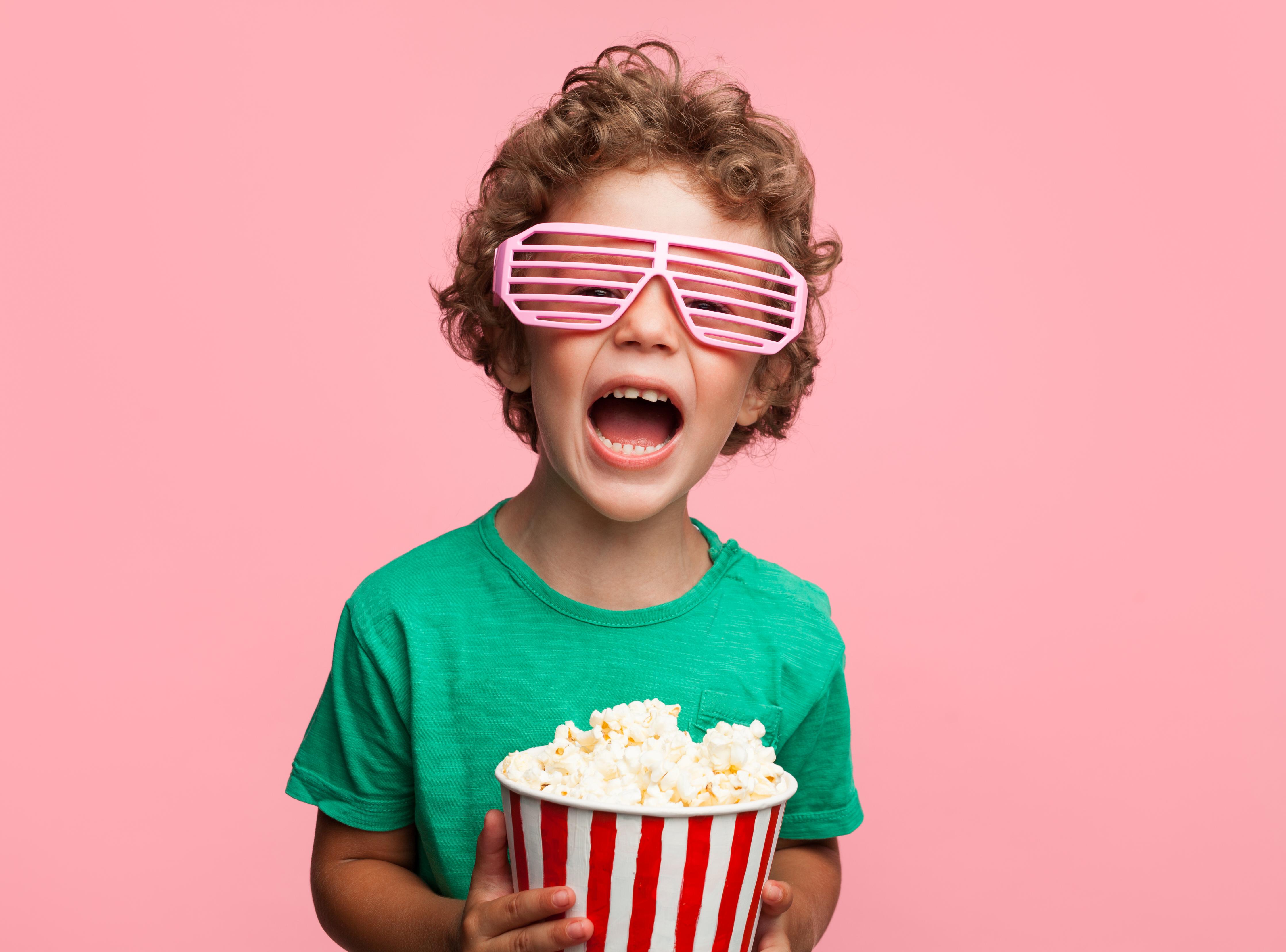 как впервые повести ребенка в кино