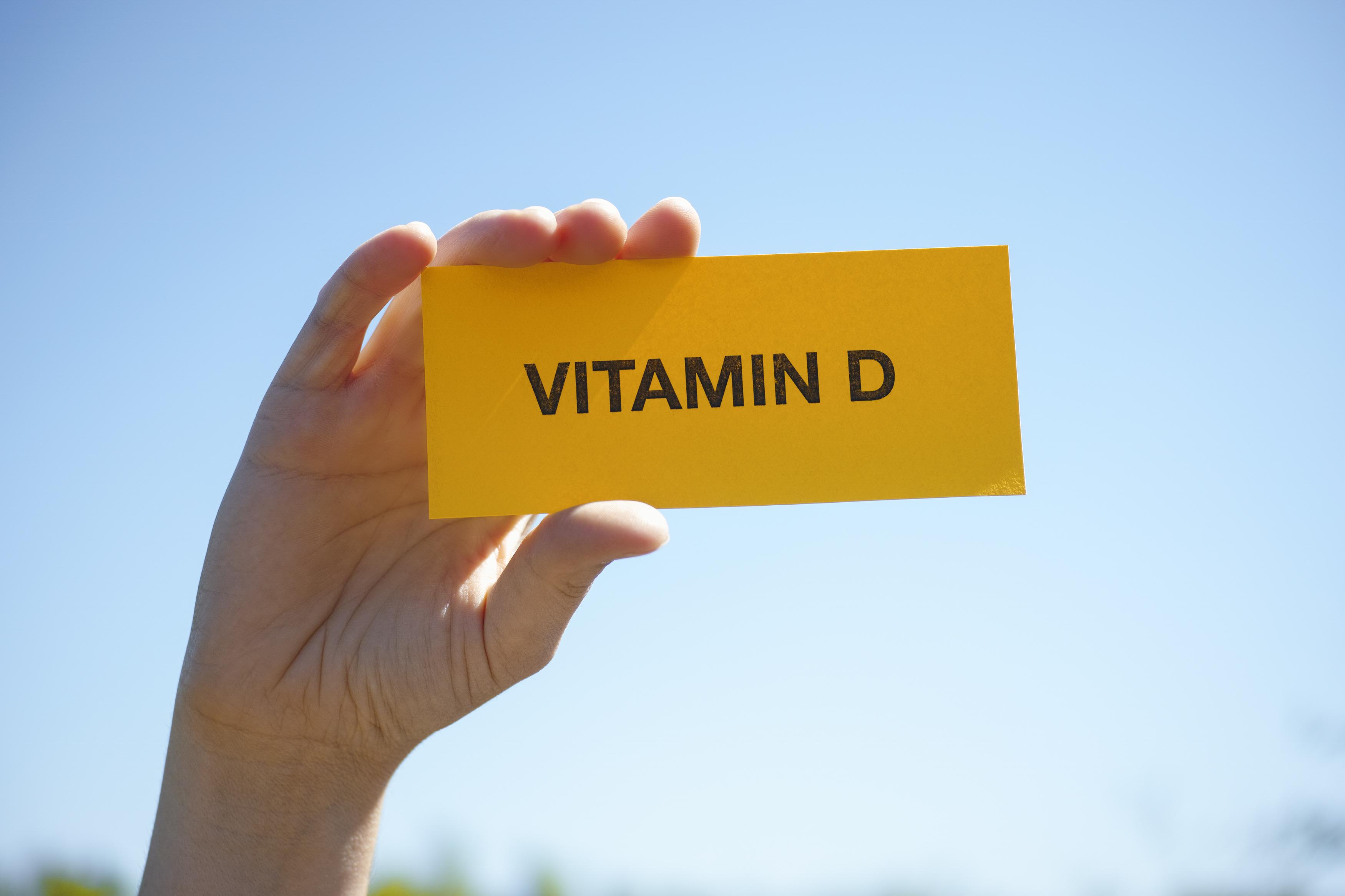 Признаки дефицита витамина D