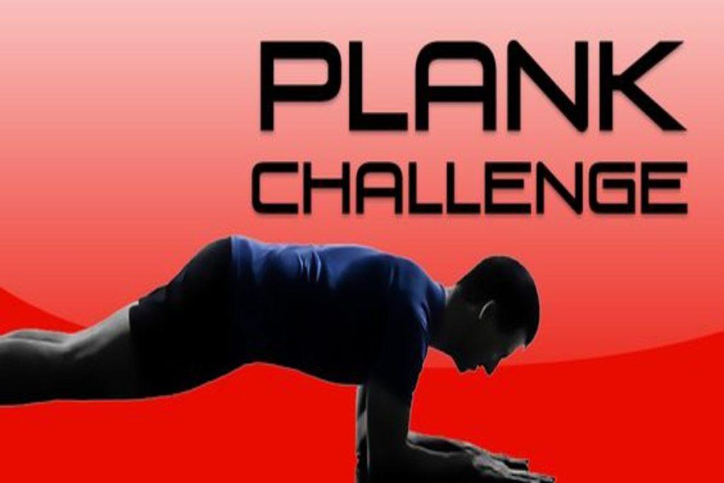 как делать упражнение планка