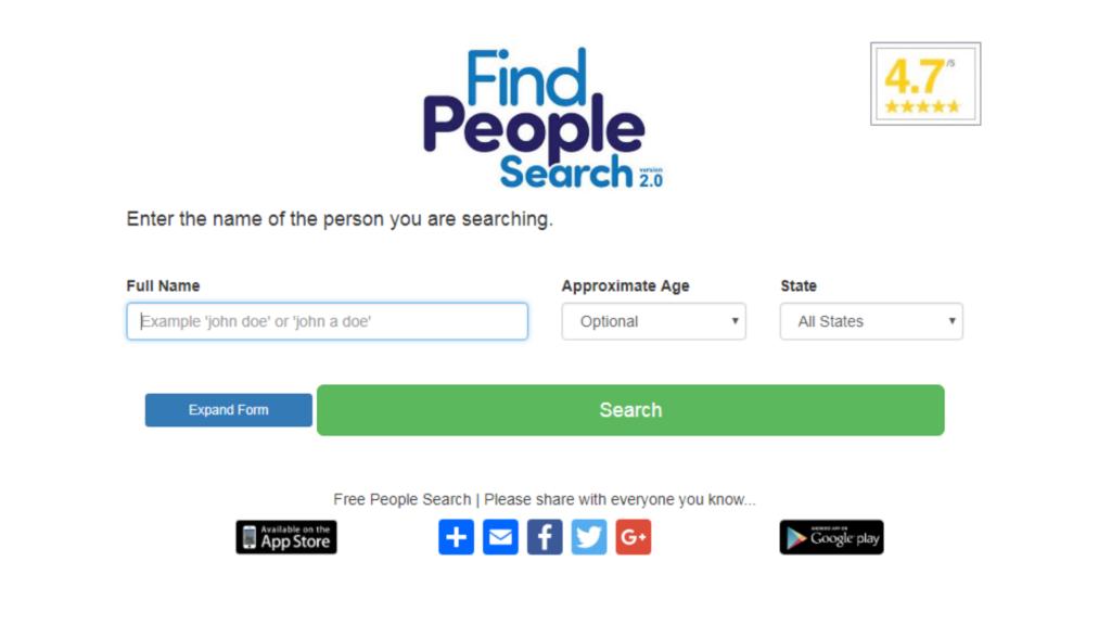 как найти человека в интернете