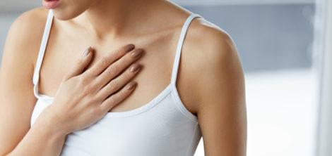 Как избавиться от высыпаний на груди