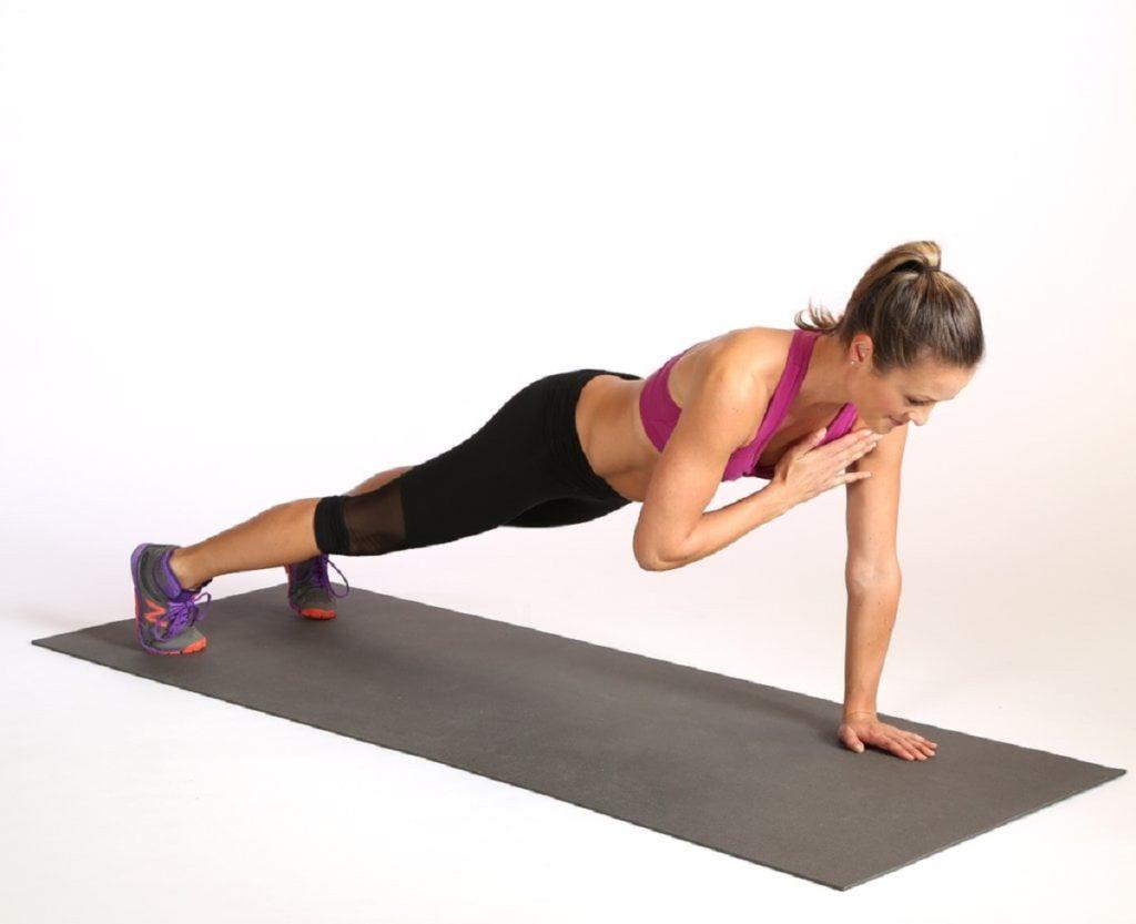 тренировка для укрепления корпуса и мышц пресса