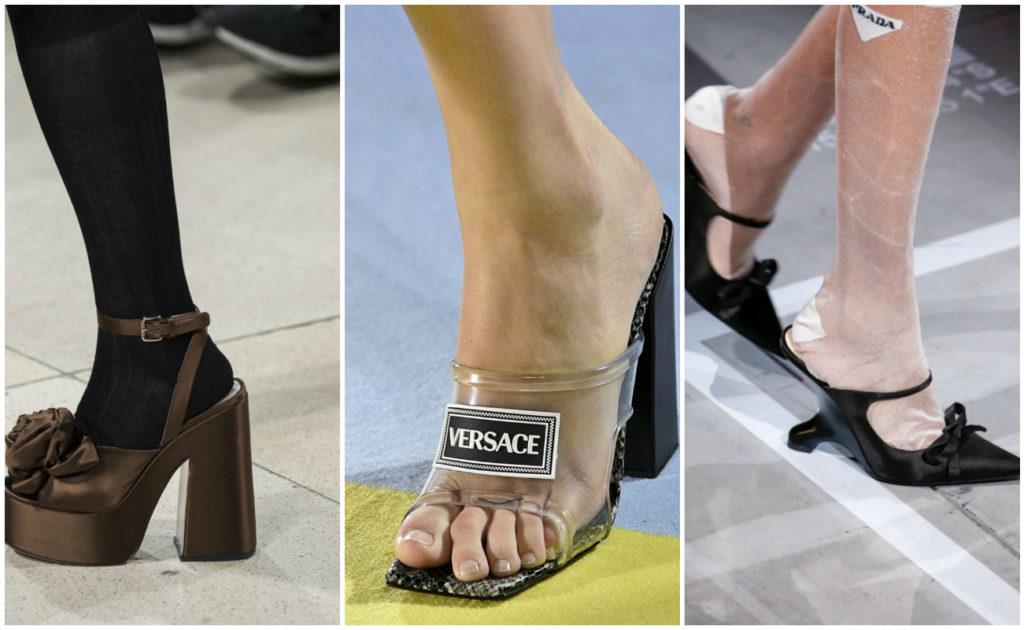 Модная весенняя обувь