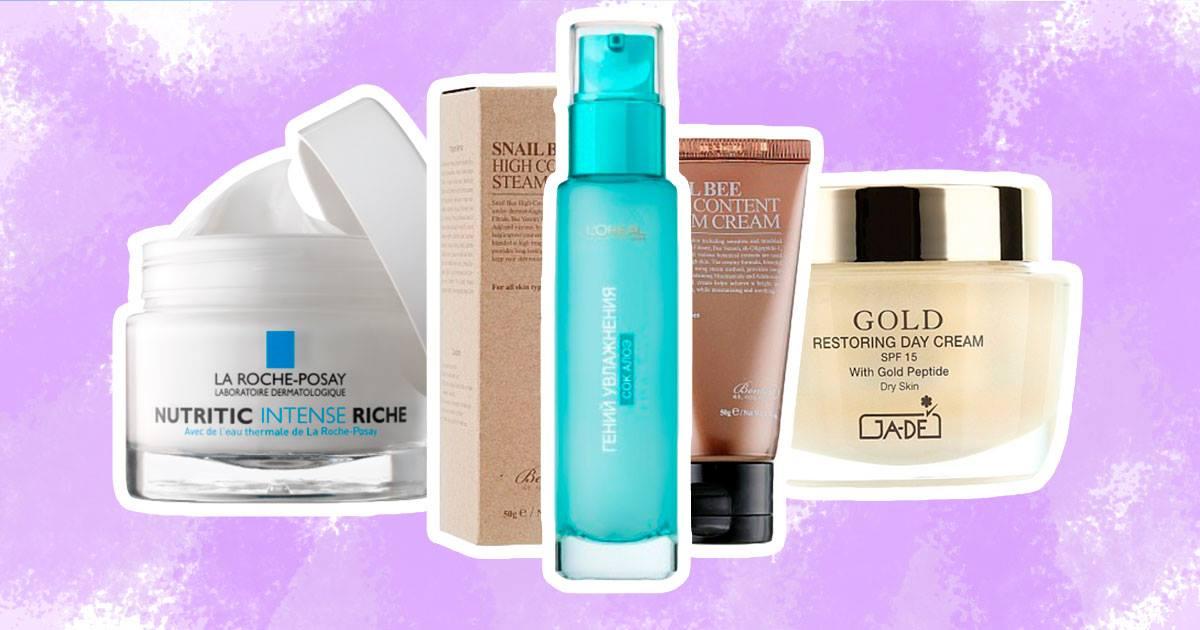 крема для восстановления кожи после зимы