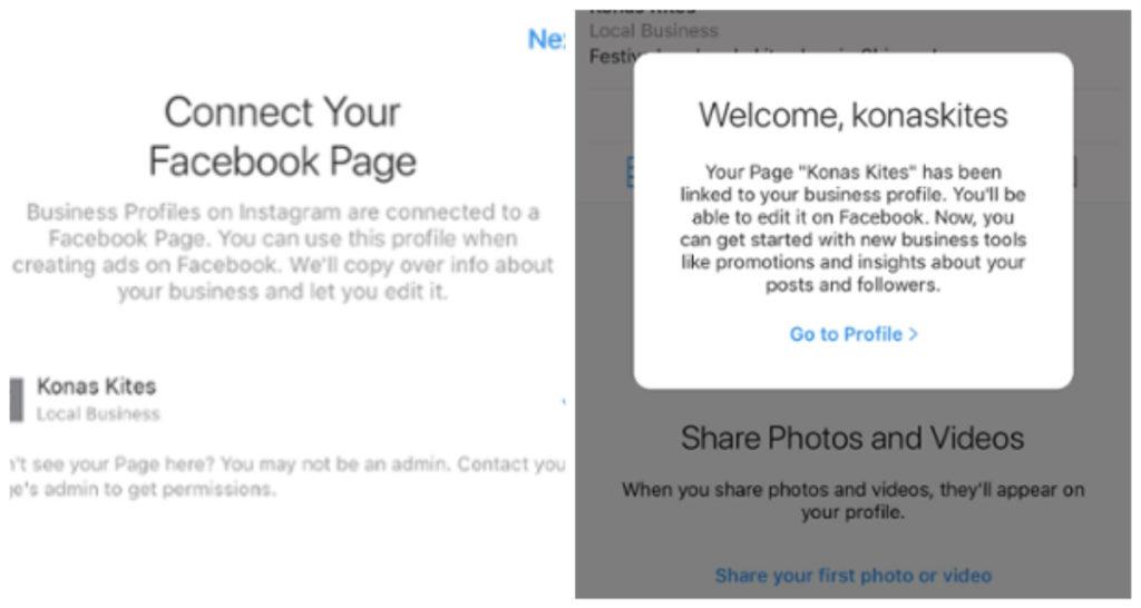 как создать бизнес-аккаунт в Instagram