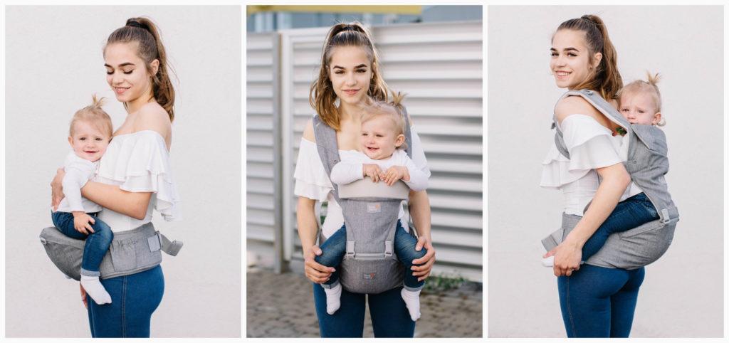 Как стильно и полезно носить ребенка