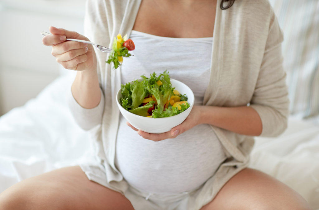 Как не набрать вес во время беременности