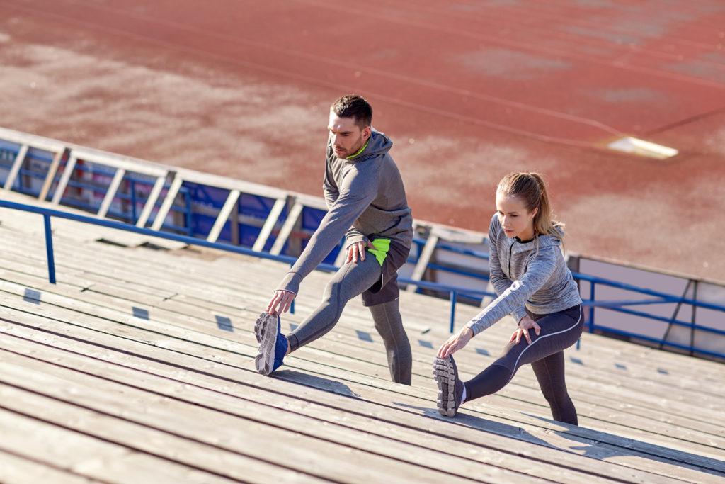 Как устроить тренировку с помощью ступенек
