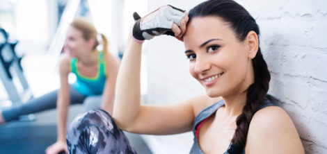 Как ухаживать за лицом после тренировки