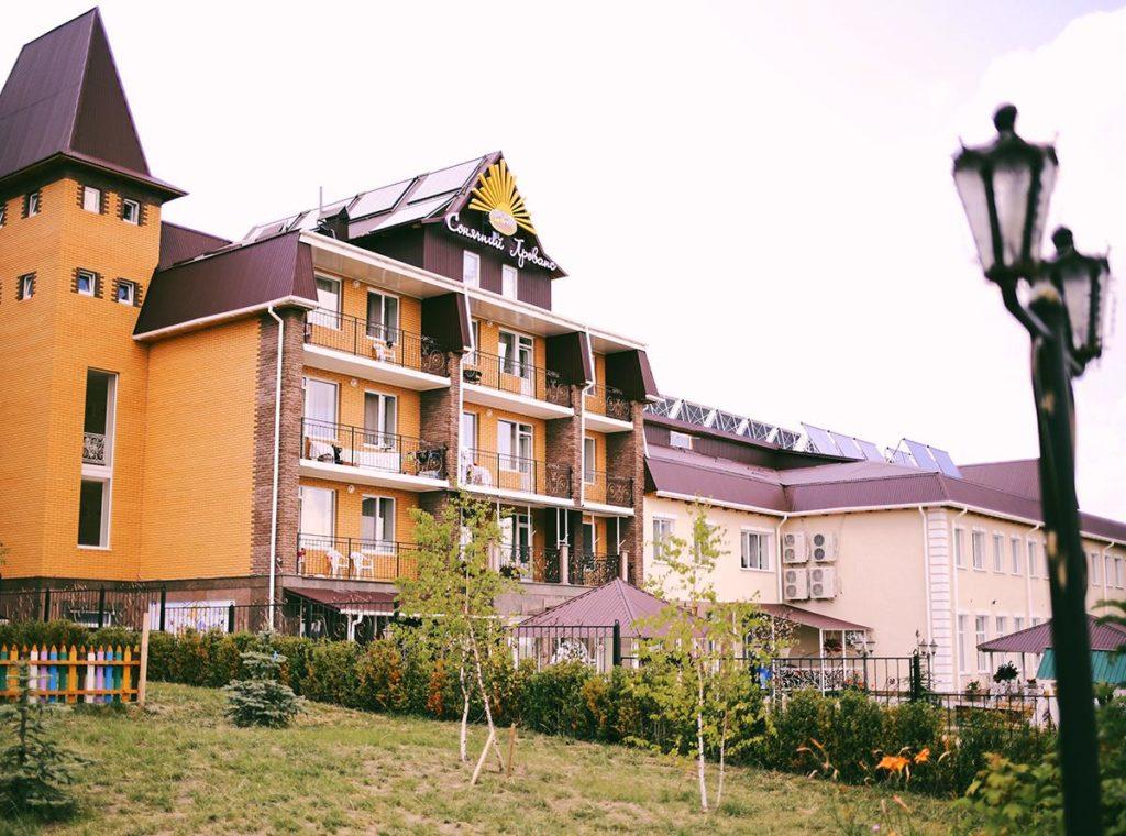 загородный комплекс, отель, отдых