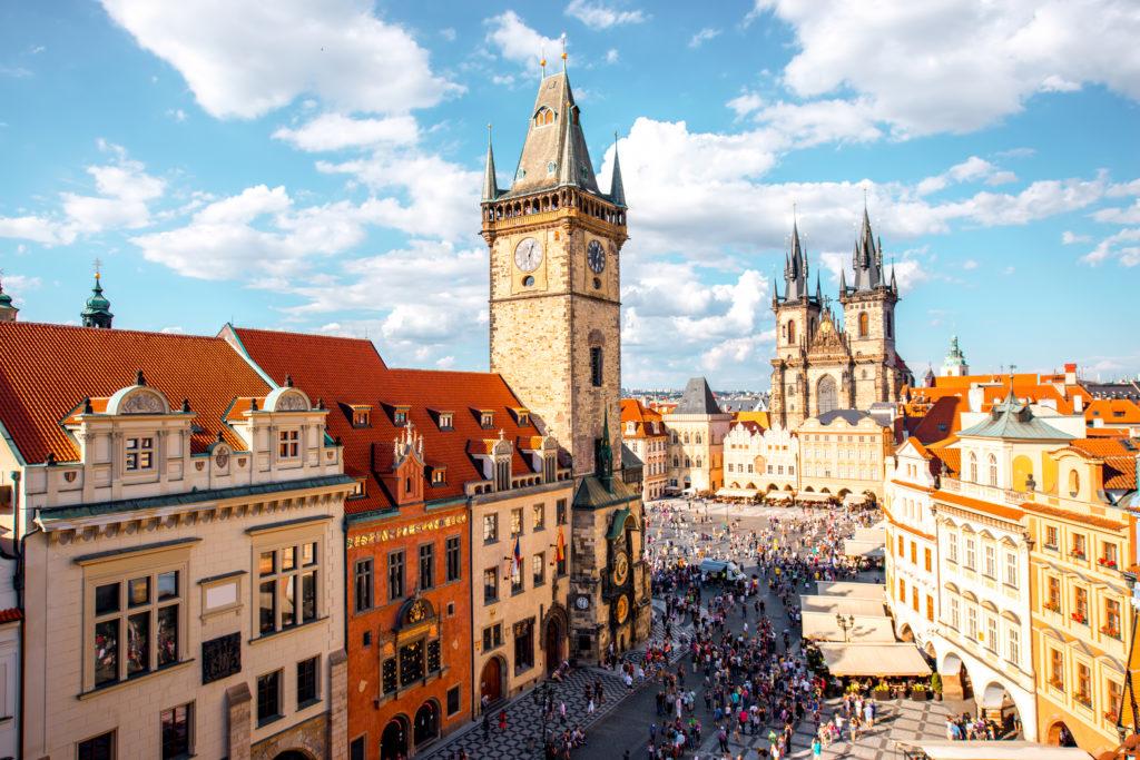 Прага, путешествие