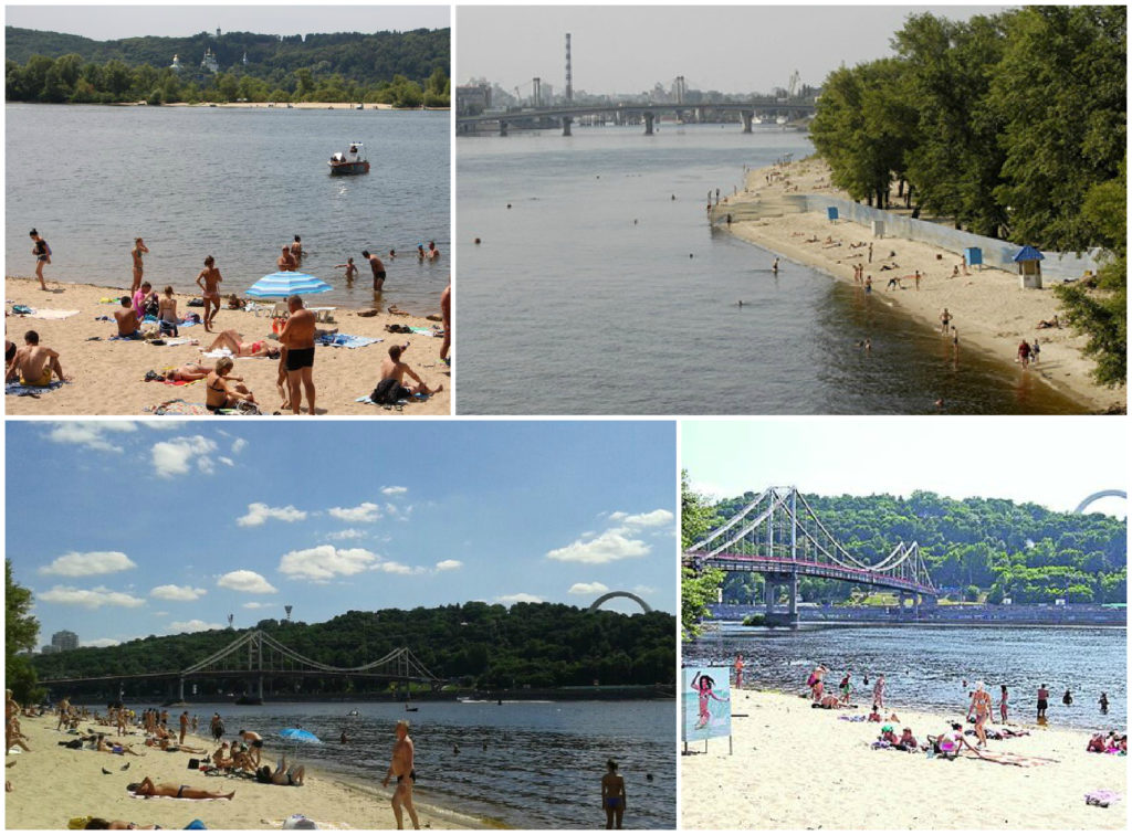где и как безопасно отдыхать на пляжах Киева