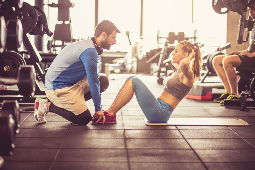 фитнес, тренер, спорт