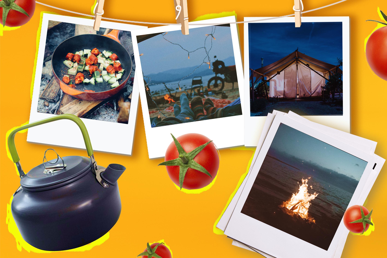 идеи рецептов для похода с палаткой