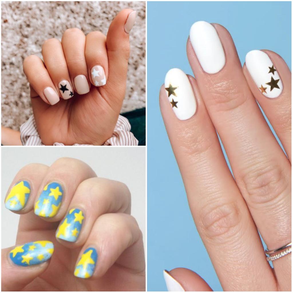Зірки на нігтях